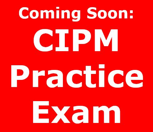 CIPPMPracticeExam