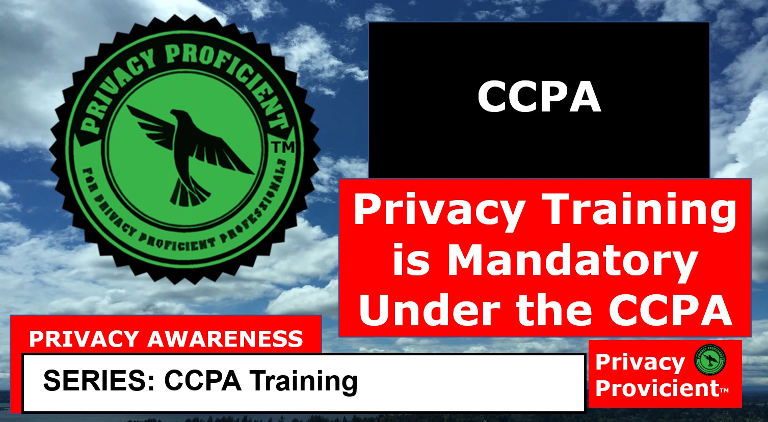Privacy Training Is Mandatory Under The CCPA